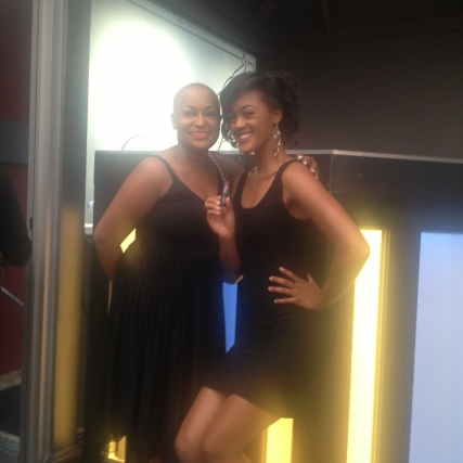 SWL Beauty assistants, Amber and Brittney.
