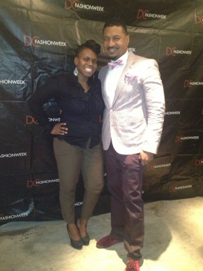 Carleta and DC fashion week creator, Ian Williams