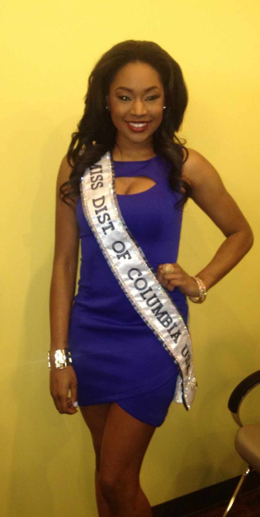 Ciera Butts, Miss District of Columbia 2014
