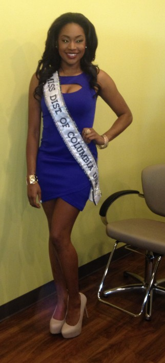 Ciera Butts, Miss DC 2014