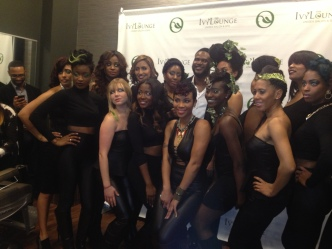 Ivy lounge hair models and Dr. Fo
