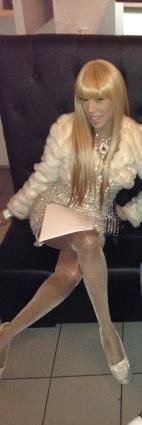 TV host, Queen Charis