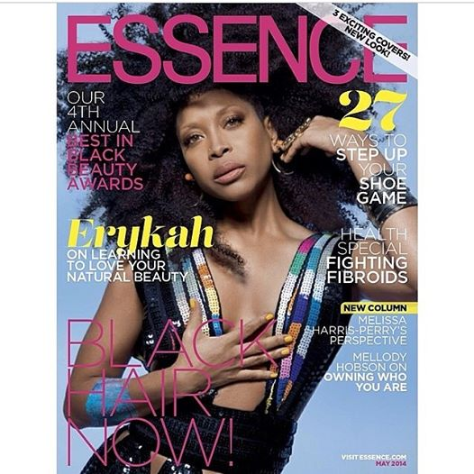 Erykah Badu | Essence May '14