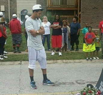J Cole in Ferguson