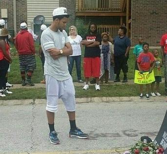 J Cole in Ferguson